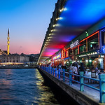 Beyond Galata Bridge - Istanbul Turkey
