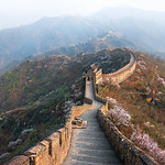 Beyond The Fog - (The Great Wall of China)