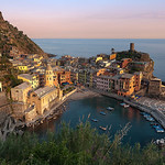 Golden Embrace - (Vernazza, Cinque Terre, Italy)