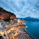 Atrani By Night - Amalfi Coast Italy