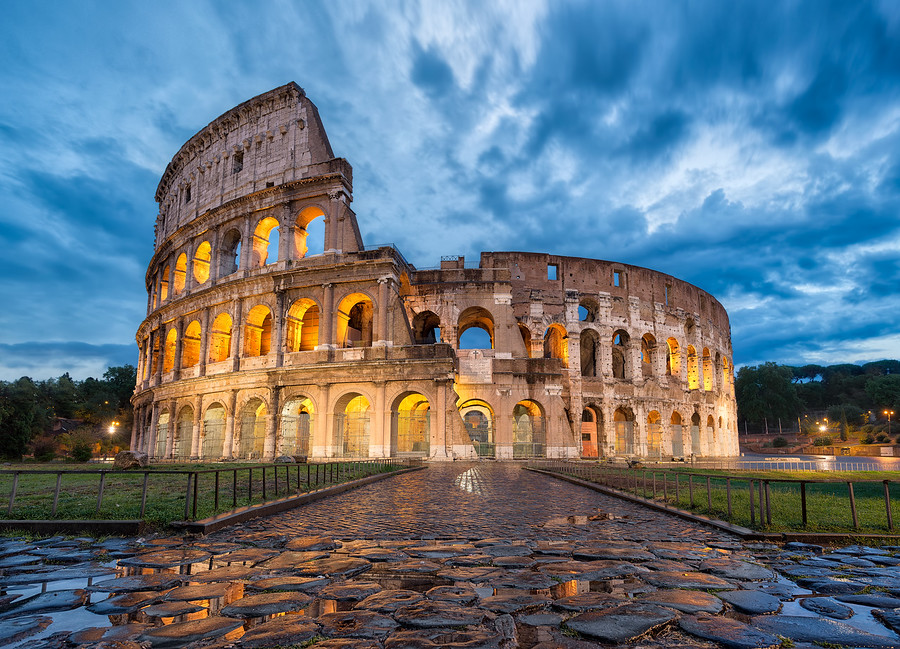 In the Eternal City of Rome, there's nothing more iconic, more recognized, or more mesmerizing than The Colosseum.
