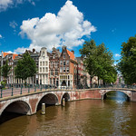 Amsterdam is truly a water city with its beautiful canals and bridges.