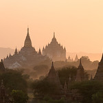 Temples In The Distance - Bagan Myanmar