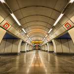 Meanwhile, under Prague, there are many beautiful metro stations to be explored.