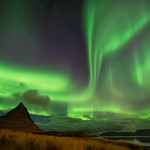We watched in awe as the Aurora Borealis danced around us, all alone in the Icelandic Countryside.