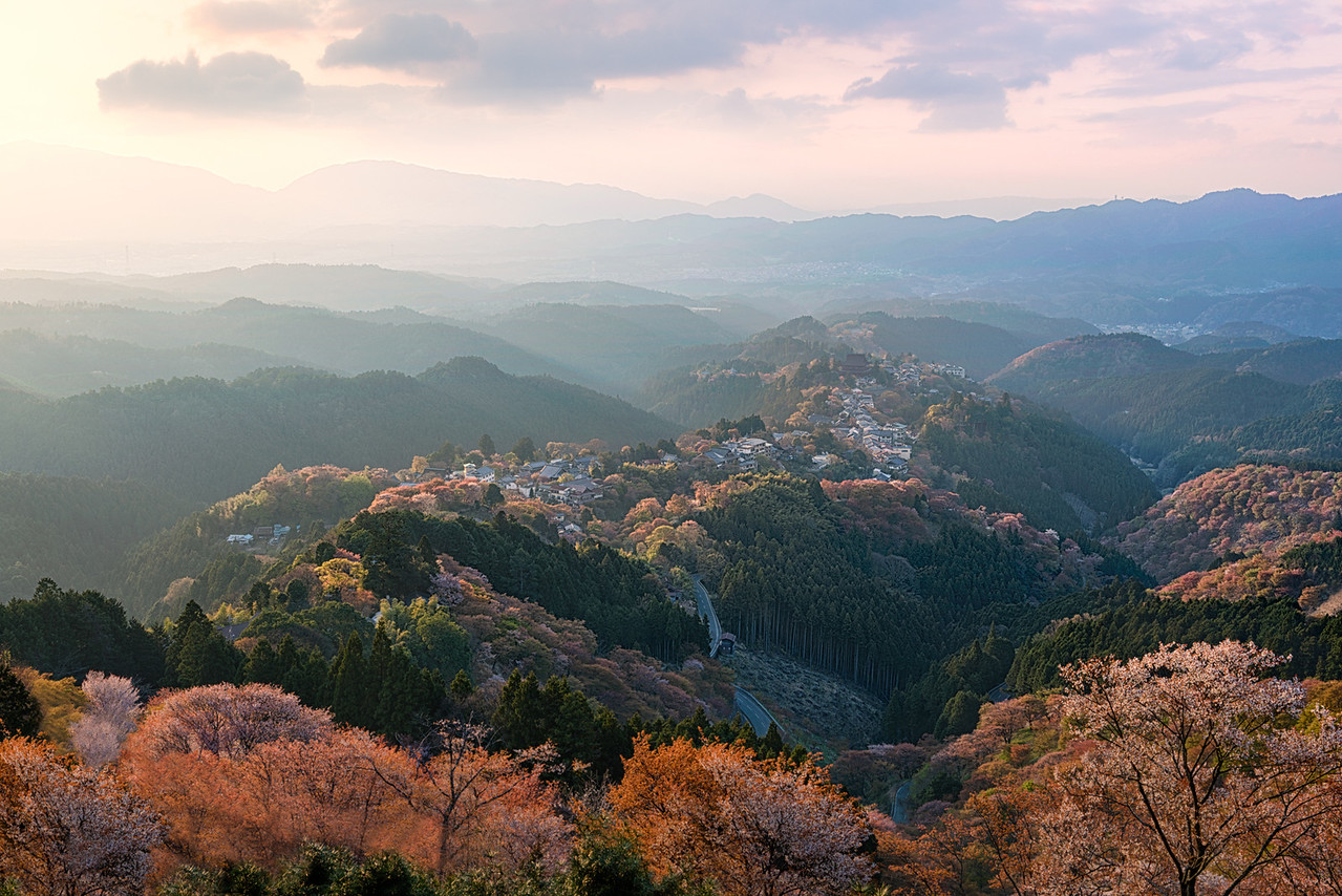 Sacred Mountain - Yoshino Japan