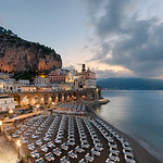 As the town of Atrani awakes, along Italy's beautiful Amalfi Coast.