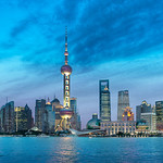 Shanghai, City of Lights - China