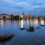 A night spent overlooking Charles Bridge in the beautiful Bohemian City of Prage.