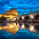 Ponte Sant&quot;Angelo - (Rome, Italy)