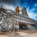 Farewell Space Shuttle Discovery - (NASA, Cape Canaveral)