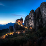 Twilight Monastery - Meteora Greece